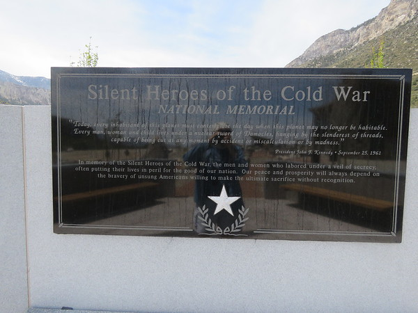 The Silent Heroes of the Cold War Memorial.