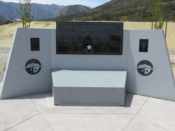 The memorial up close.