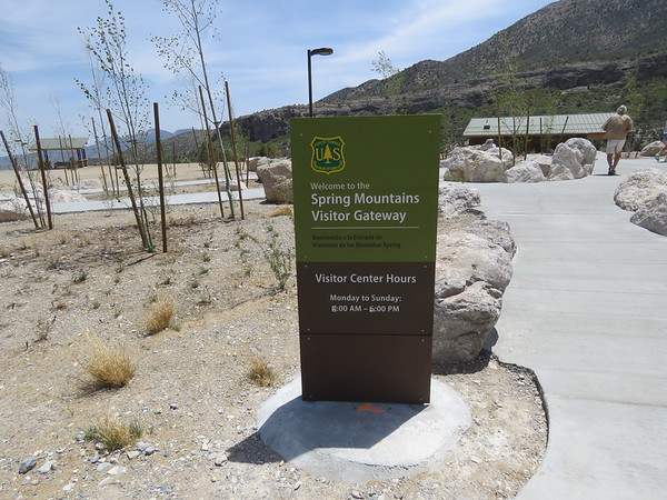 The new Spring Mountain Gateway Visitor Center.